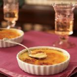 Flan – Atkins Style Recipe    5 eggs  1 cup heavy cream  1 cup water  5 packets of sugar substitute or to taste      1 cap full of