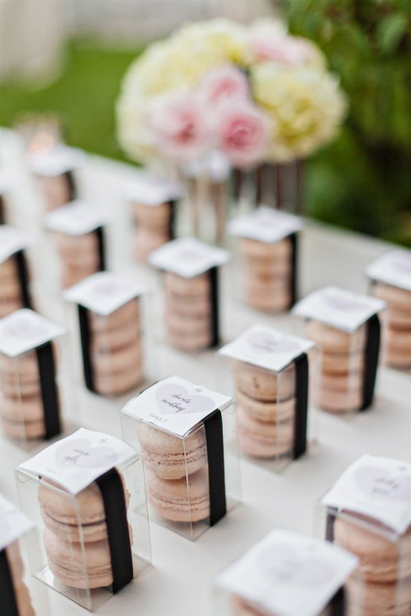 📌 25 Best Ideas About Macaroon Wedding Favors On Pinterest
