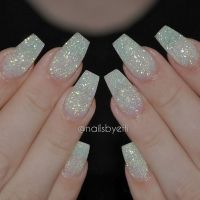 25+ best ideas about Glitter nails on Pinterest