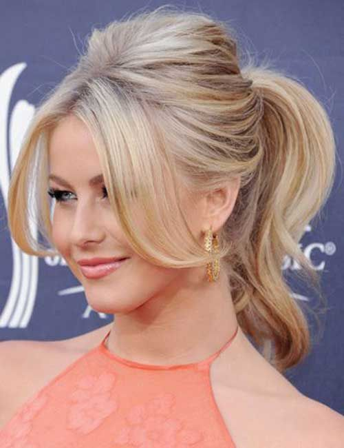 25 Best Ideas About Medium Hair Ponytail On Pinterest Easy Hair