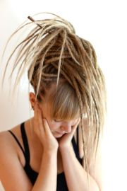 blonde dreadlocks ideas