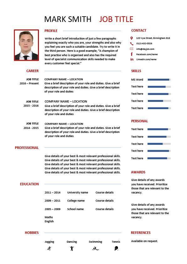 Best 25 Resume Layout Ideas On Pinterest Resume Resume