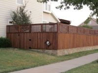 Retaining Wall Fence Ideas images | For the Yard ...