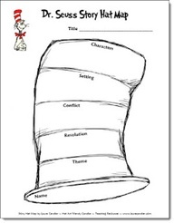 Story Hat Map from Laura Candler (Includes Characters