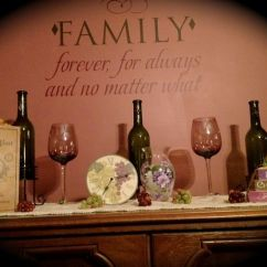 Kitchen Cabinet Decals Laminate Cabinets Wine Themed Dining Room | Home Decor Pinterest