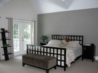 Gray accent wall | Bedroom Ideas | Pinterest | Gray ...