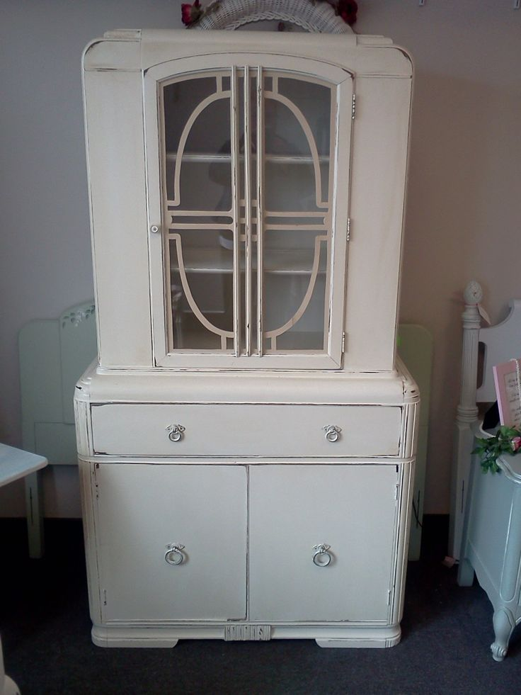 17 Best Images About Art Deco China Cabinet On Pinterest