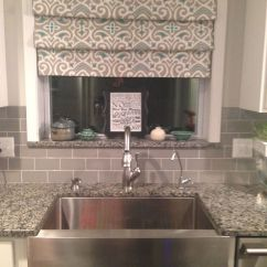 Cheap Kitchen Sinks Island Pendant Lighting No Sew Drapes- Over Sink Tension Rods Fake Roman Shades ...