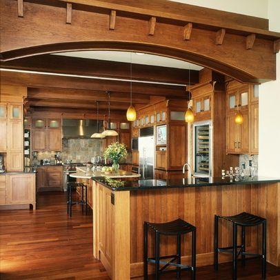 175 best Craftsman Style Kitchens images on Pinterest