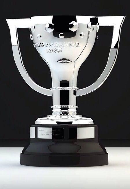 The La Liga Spanish Football league Trophy  Sophie