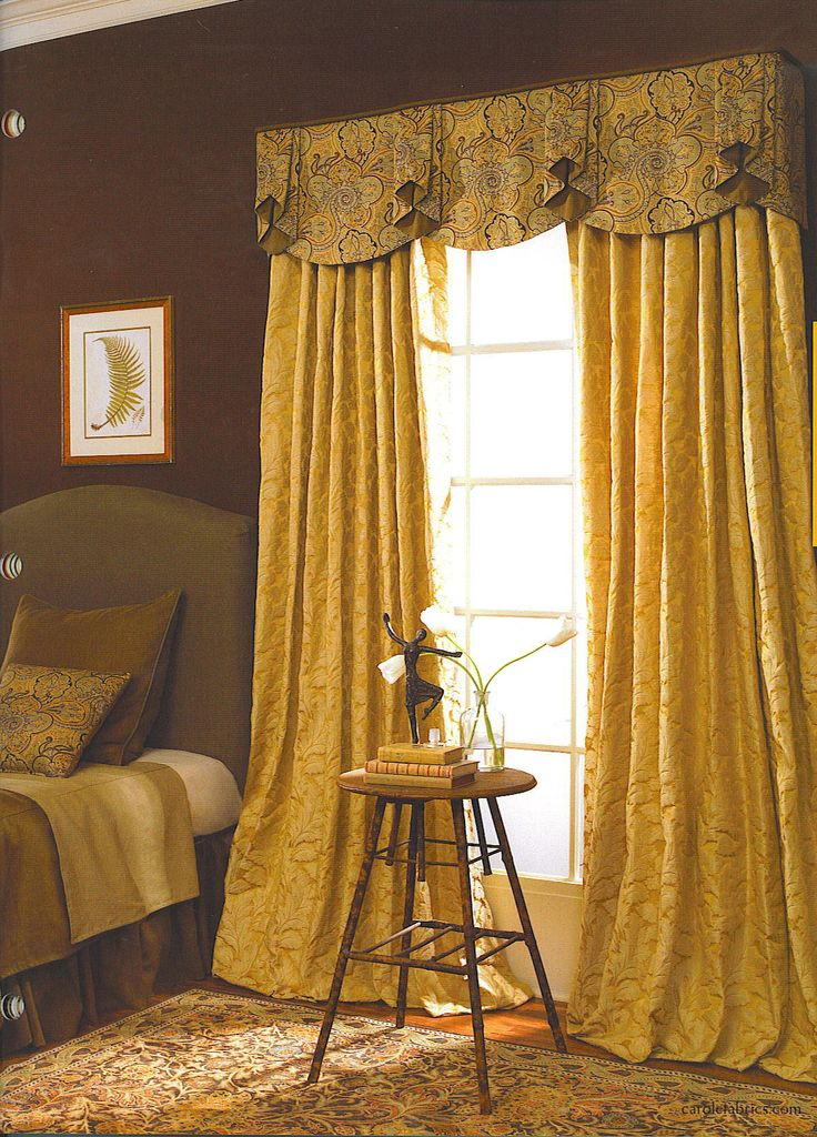 144 best images about Curtains  Scallops Horns  Gusset