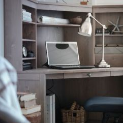 Ikea Computer Chairs Trex Rocking Sektion Base Cabinet With 3 Drawers, White Förvara, Brokhult Walnut | Kitchen Desks, Style And ...