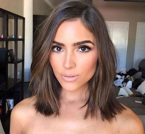 17 Best ideas about Shoulder Length Haircuts on Pinterest  Short length haircuts Long length