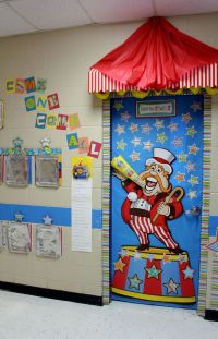 1000+ images about Clown Classroom Door Decoration on