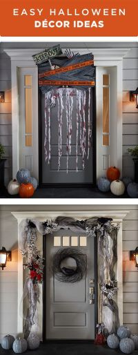 Halloween decorations - Decorate your front door for trick ...