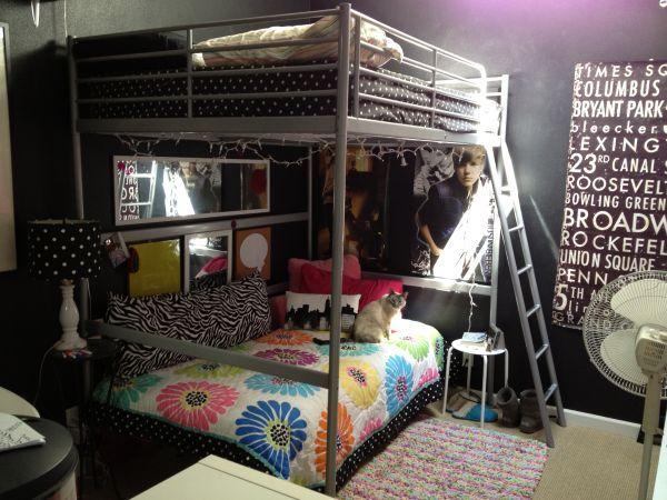 Ikea Tromso Loft Bed Turn A Twin Underneath Into A