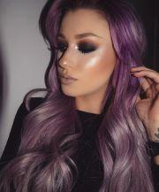 ideas silver purple