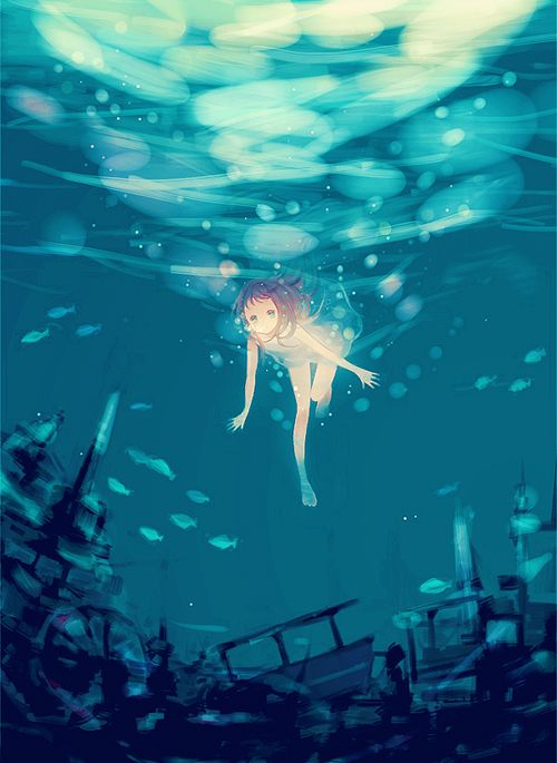 17 Best images about Anime Underwater on Pinterest