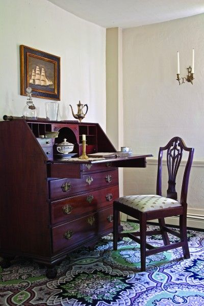Sit at your desk and write  Colonial Style  Pinterest