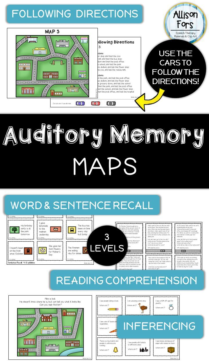 This Is A Comprehensive Auditory Memory Packet Focusing On