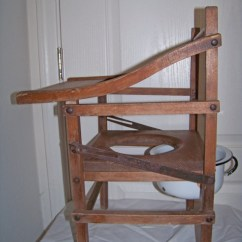 Potty Chair Large Child Windsor And Table Set Antique Childs Wooden With Tray By Sanmonet, $145.00   ...