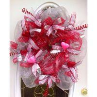 valentine wreaths for front door | Ownza - Valentine's ...