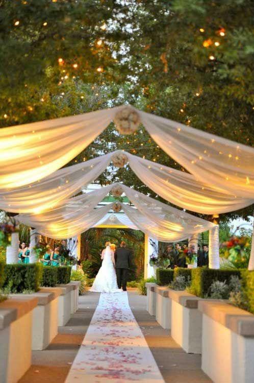 25 Best Ideas About Outdoor Wedding Canopy On Pinterest Www