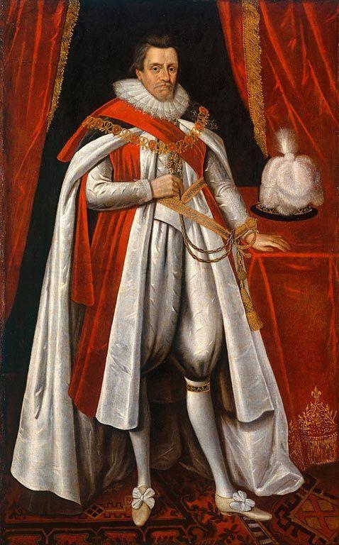Black King James I And Vi