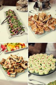 pinterest baby party ideas | Summer Garden Party Finger ...