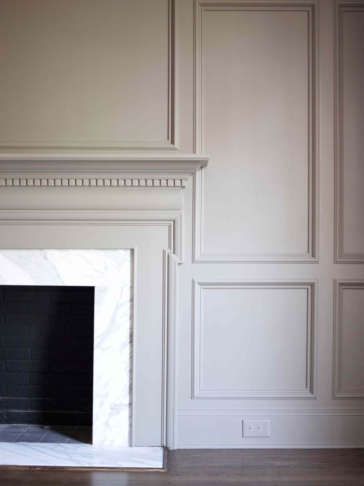 How To Make A Fireplace Mantel With Molding