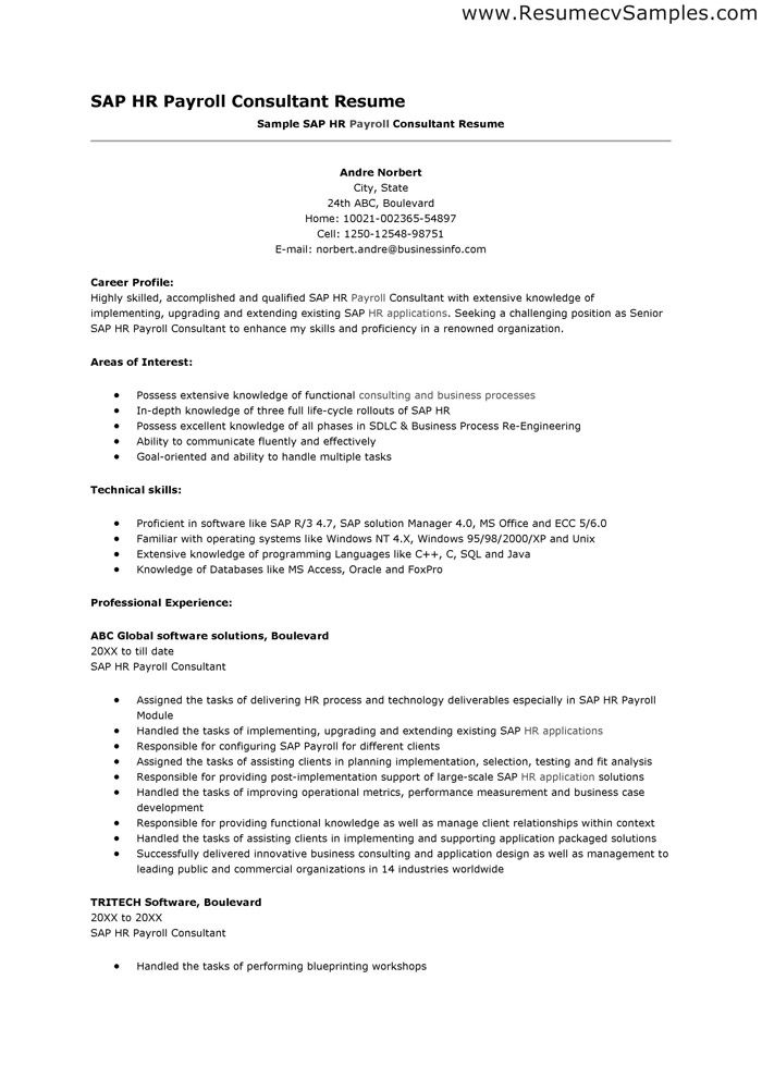 Consultant sharepoint sql c resume