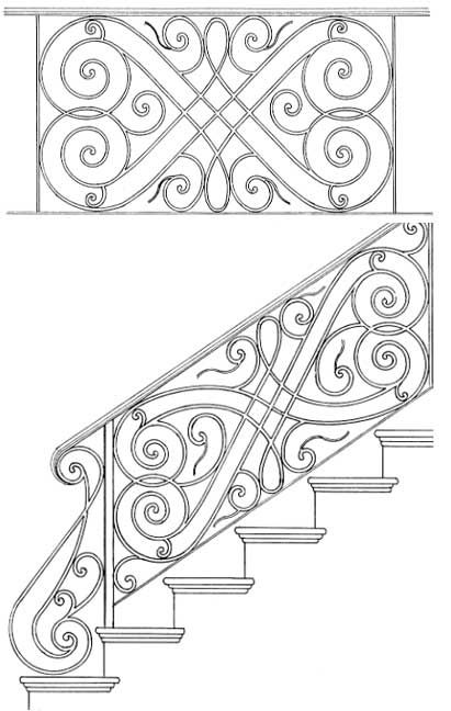 81 best images about Wrought iron designs on Pinterest