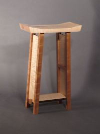 Saddle Bar Stool Woodworking Plans - WoodWorking Projects ...