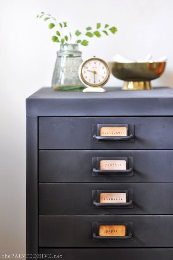 25+ best ideas about Filing cabinets on Pinterest