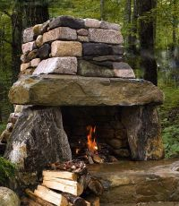 25+ best ideas about Outdoor fireplaces on Pinterest ...