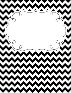 25+ best ideas about Chevron binder covers on Pinterest
