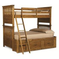 Bryce Canyon Twin Over Full Bunk Bed with Underbed Storage ...