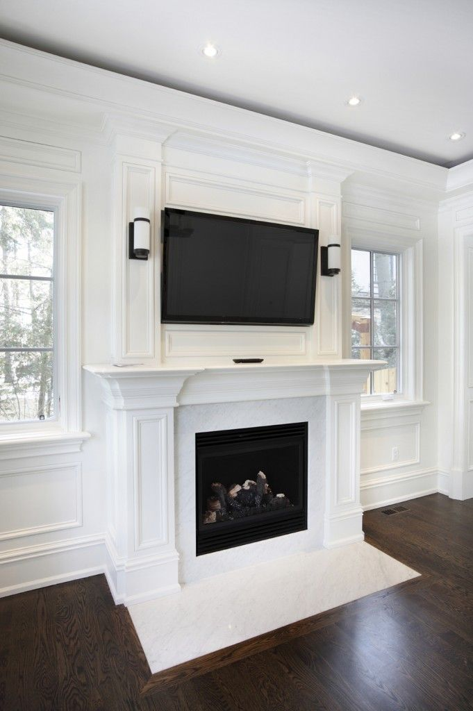 49 Exuberant Pictures of TVs Mounted Above Gorgeous Fireplaces GREAT IMAGES  Fireplaces