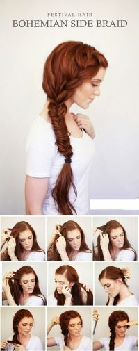 607 best images about Braided Braiding Braids on Pinterest