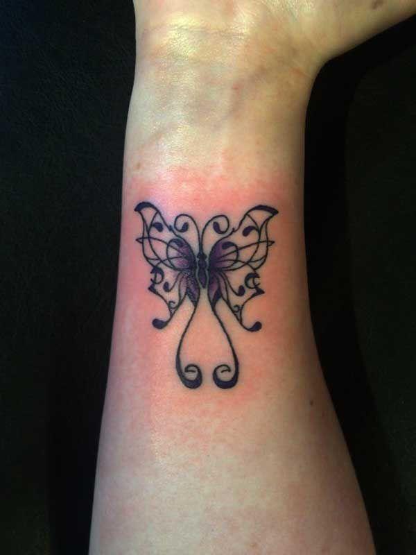small tribal tattoos wrist