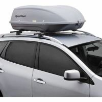 New XL Roof-Mount Cargo Box Storage Car Roof Crossbar Auto ...