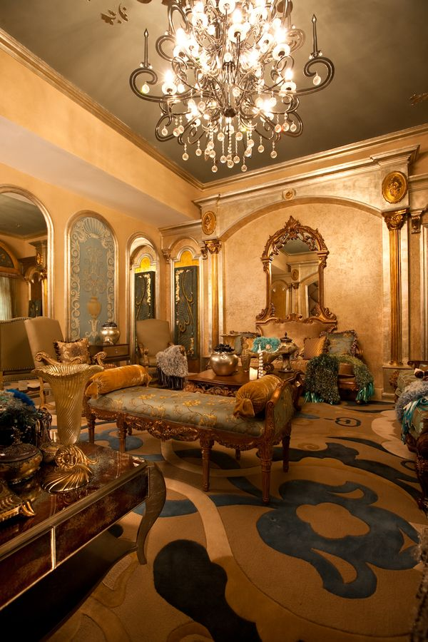 Perla Lichi Gallery Dubai UAE By GAP Marketing Via Behance Architectural Ornaments