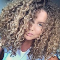 25+ Best Ideas about Blonde Curly Hair on Pinterest