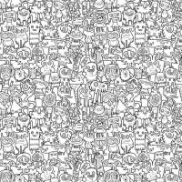 Creative Colour In Wallpaper | Doodles, Wallpapers and ...