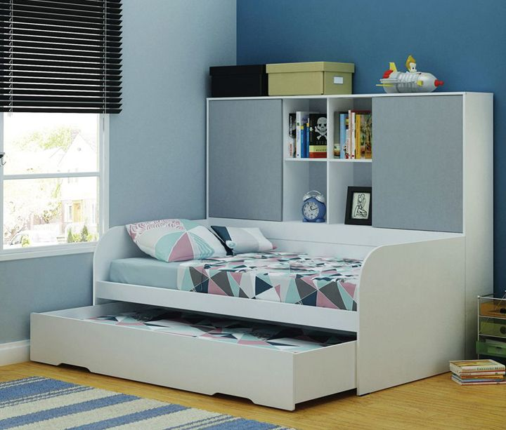 Awesome Beds 4 Kids  Pluto Storage Trundle Bed  94900