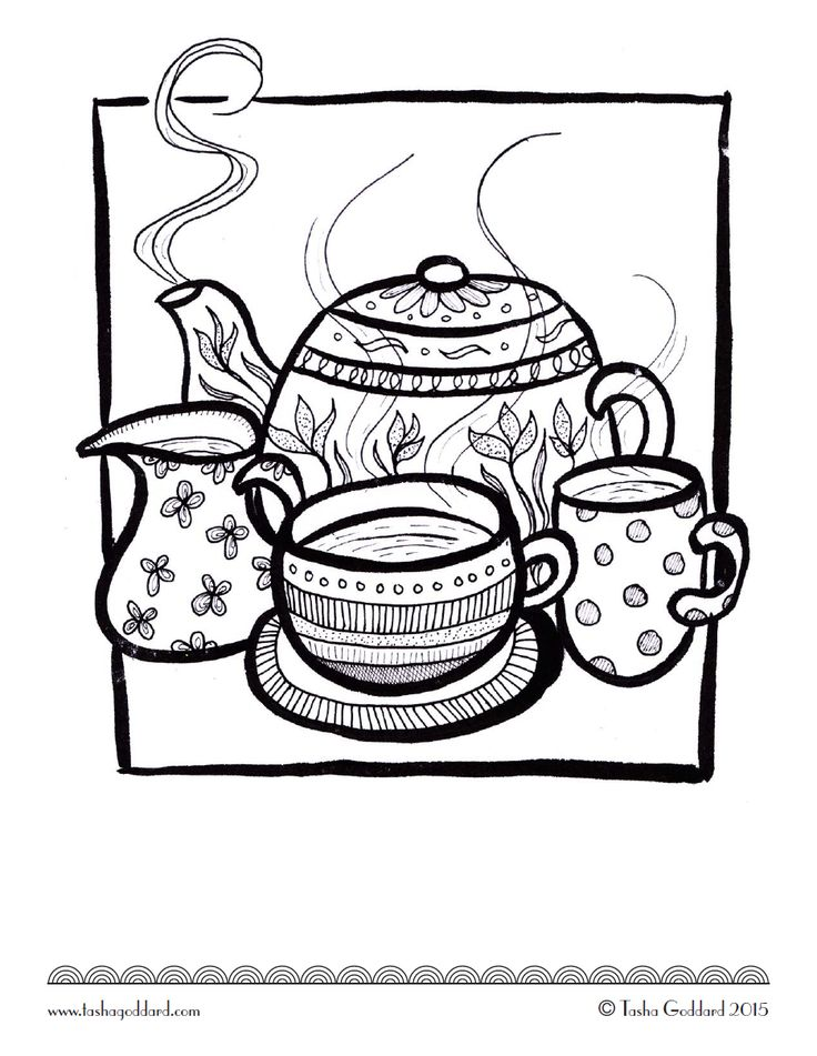 721 best images about ☕Adult Colouring~Coffee~Tea~Cakes