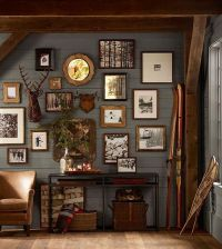 Rustic gallery wall | Cabin Fever | Pinterest | Rustic ...