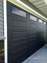 17 Best ideas about Black Garage Doors on Pinterest ...