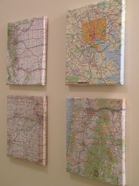 Best 20+ Map wall art ideas on Pinterest