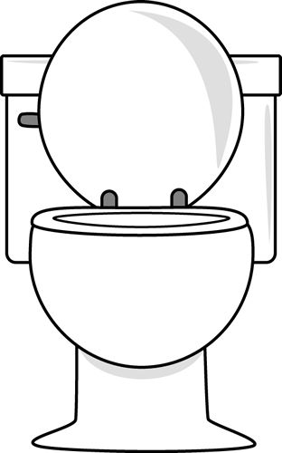 Toilets, Clip art and Graphics on Pinterest